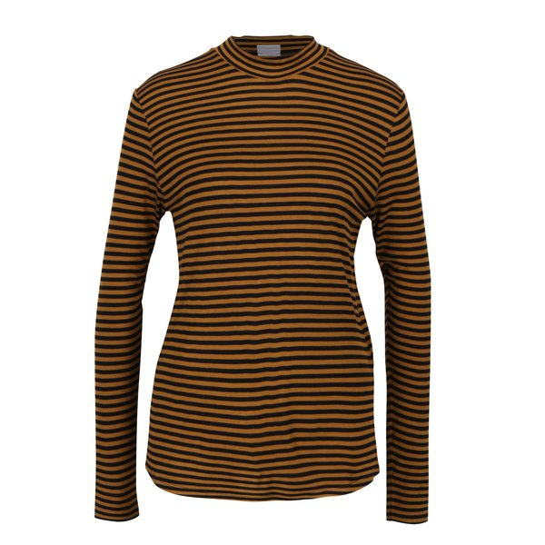 Bluza cu dungi negru & maro - Jacqueline de Yong Spirit