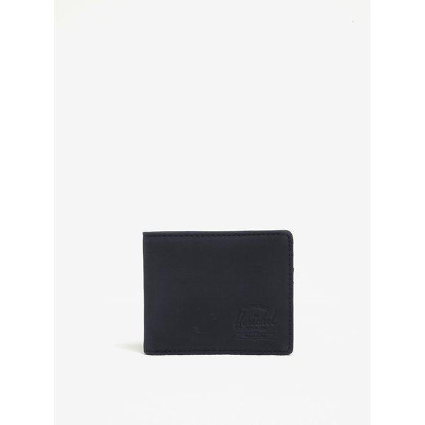 Portofel bleumarin din piele cu tehnlogie anti-furt Herschel Hank
