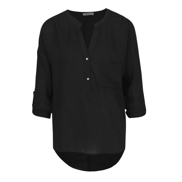 Bluza neagra cu spate alungit - Haily´s Florie