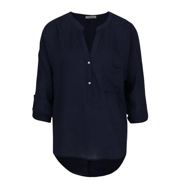 Bluza bleumarin cu spate alungit - Haily´s Florie