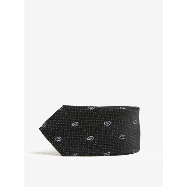 Cravata neagra cu model paisley - Selected Homme Xin Tie
