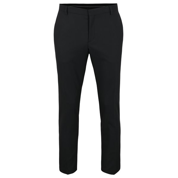 Pantaloni negri de costum - Selected Homme Done Tux