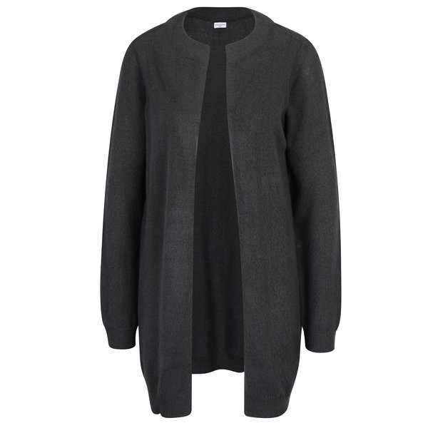 Cardigan tricotat gri inchis - Jacqueline de Yong Day light