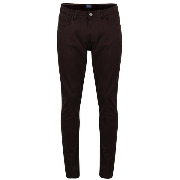 Pantaloni maro slim fit cu buzunare - Blend