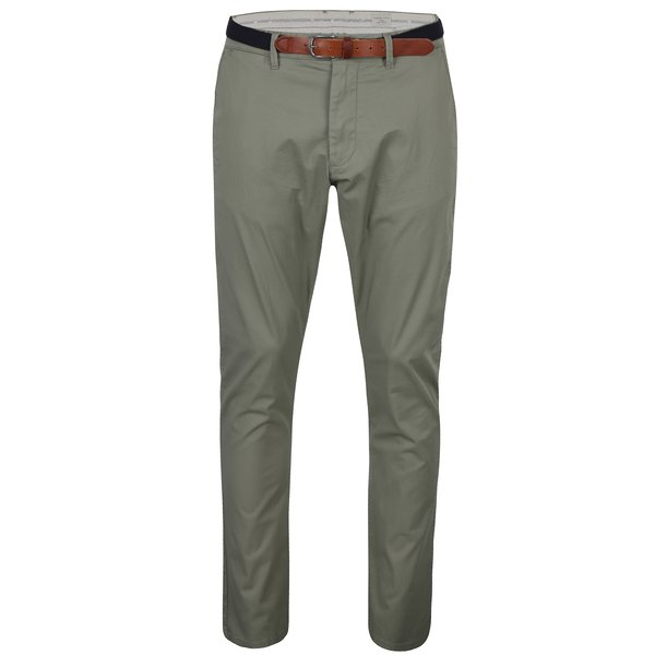 Pantaloni chino kaki Selected Homme Hyard