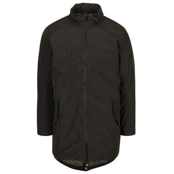 Jacheta lunga verde inchis cu buzunare pentru barbati - Casual Friday by Blend