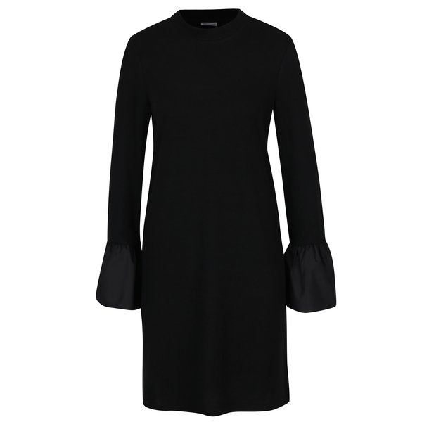 Rochie pulover neagra cu maneci clopot - Noisy May Nadine