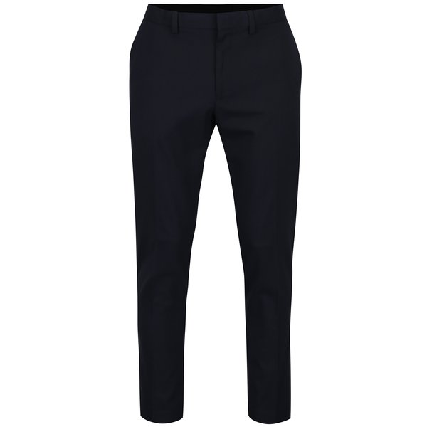Pantaloni bleumarin skinny pentru costum Burton Menswear London