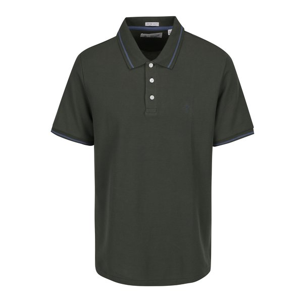 Tricou polo verde inchis - Original Penguin