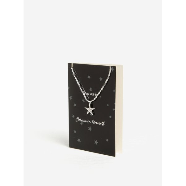 Bratara argintie cu pandantiv in forma de stea - Pieces Anchor