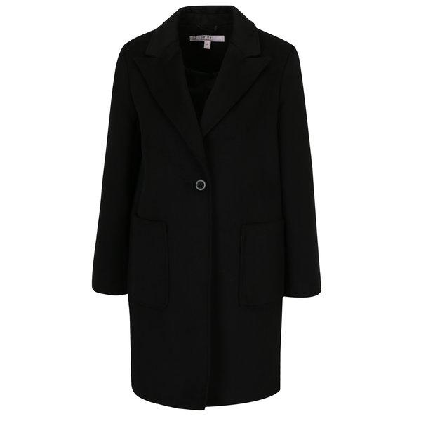 Palton negru clasic - Miss Selfridge Petites