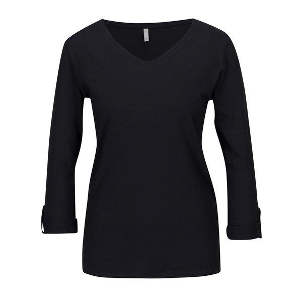 Bluza neagra cu maneci 3/4 ONLY Bone