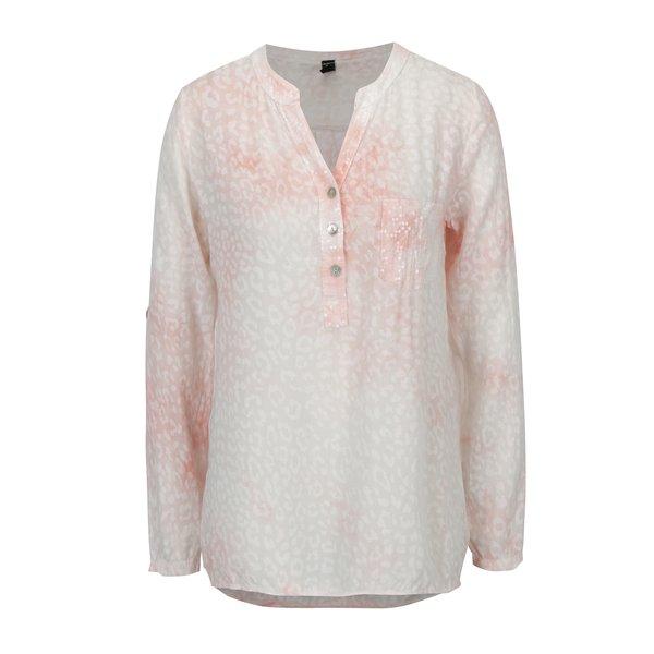 Bluza roz cu animal print si paiete - Madonna