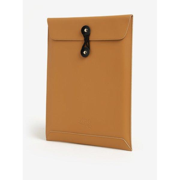Husa maro din piele pentru notebook - Lipa 11