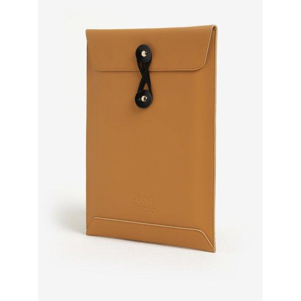 Husa maro din piele pentru notebook - Lipa 13