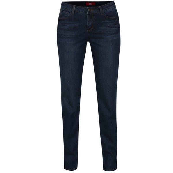 Blugi regular fit albastri cu talie medie pentru femei s.Oliver