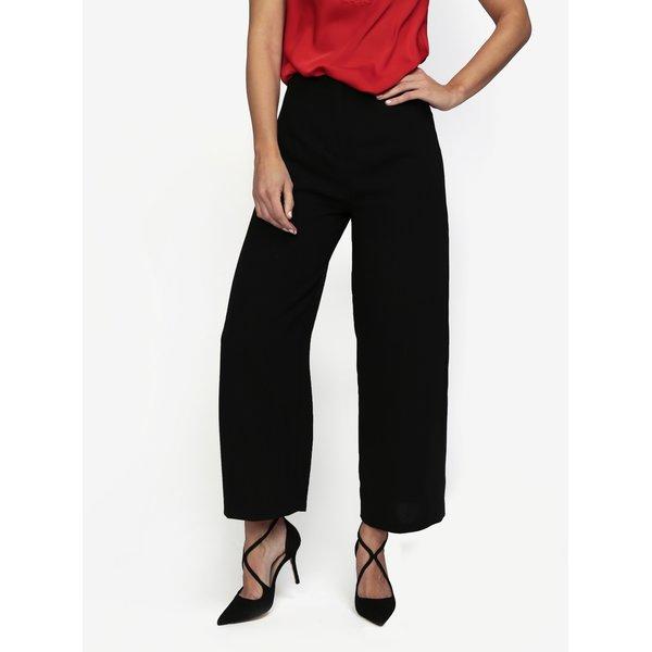 Pantaloni culottes negri cropped - MISSGUIDED