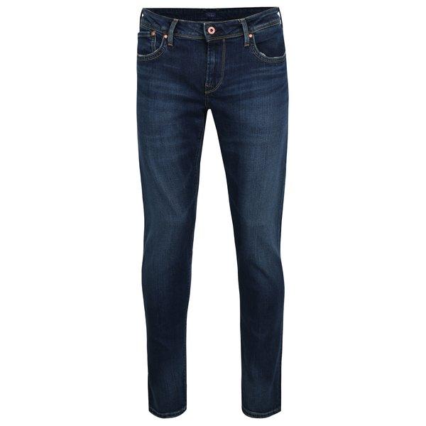 Blugi albastri slim fit pentru barbati - Pepe Jeans Hatch