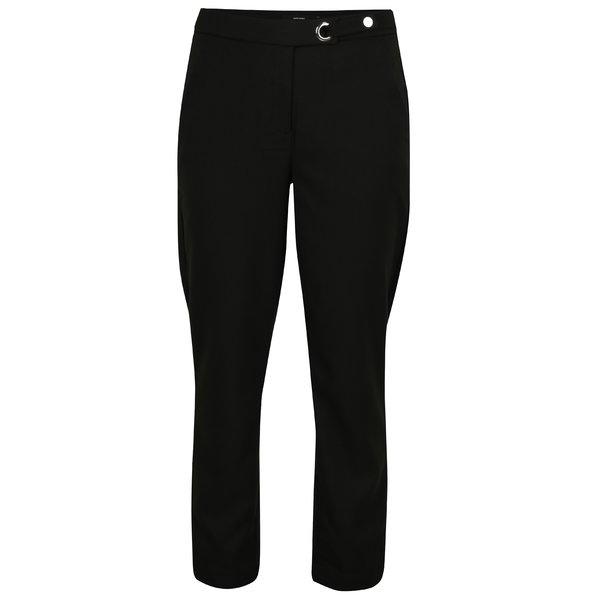 Pantaloni conici negri cu buzunare - VERO MODA Rony