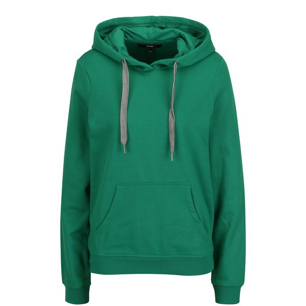 Hanorac verde cu buzunar kangaroo - VERO MODA Gina