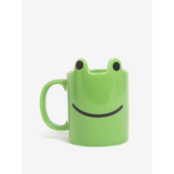 Cana verde in forma de broasca Gift Republic
