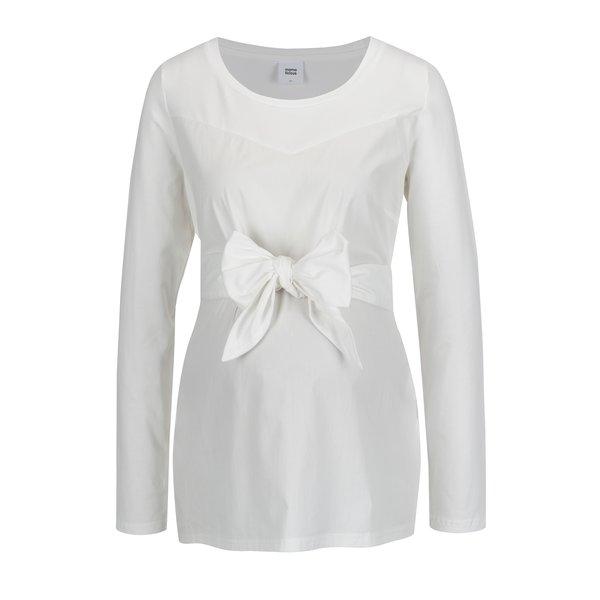 Imagine indisponibila pentru Bluza alba cu funda in talie pentru femei insarcinate - Mama.licious Celine