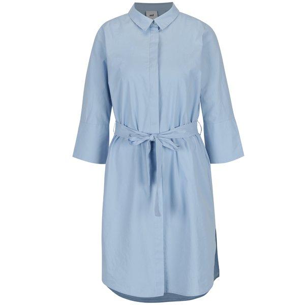 Rochie camasa albastra pentru alaptat - Mama.licious Krista