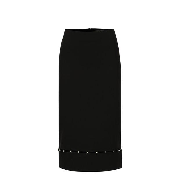 Fusta neagra cu detaliu decorativ din perle Dorothy Perkins
