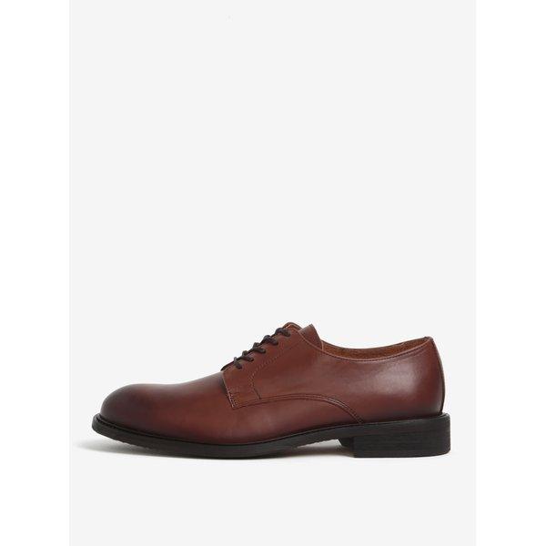 Pantofi maro din piele naturala - Selected Homme Baxter