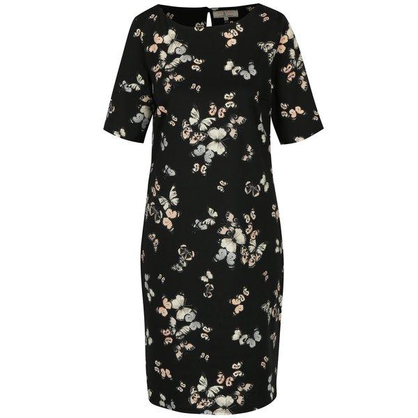 Rochie neagra cu print - Billie & Blossom Tall