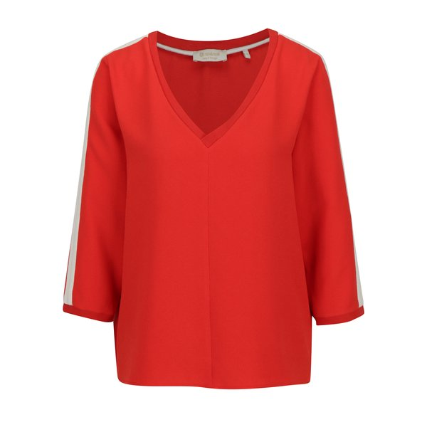 Bluza rosie cu maneci 3/4 - Rich & Royal