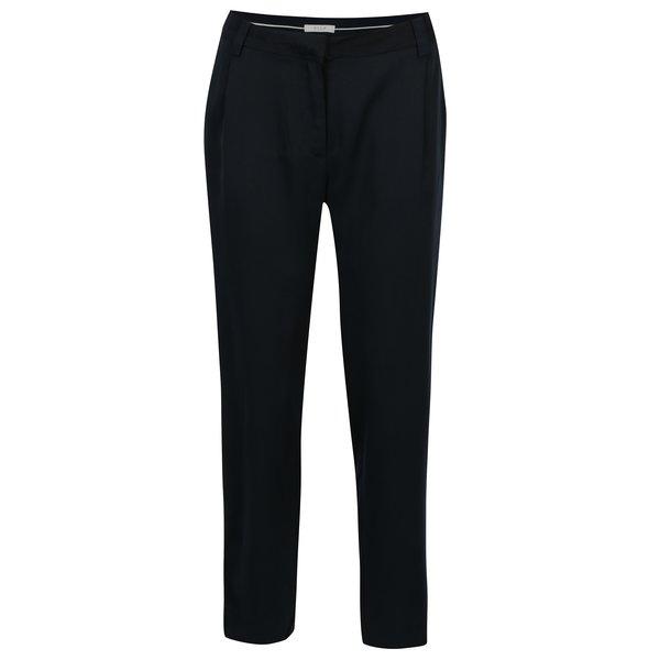 Pantaloni bleumarin cu croi drept VILA Anly