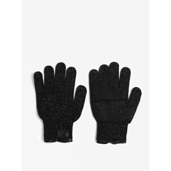 Manusi negre unisex functionale pe touch-screen - Mujjo