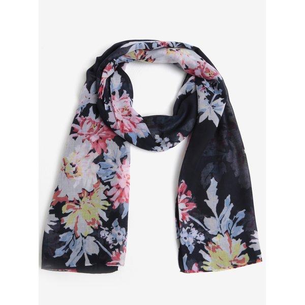 Esarfa bleumarin cu print floral - Tom Joule Wensley