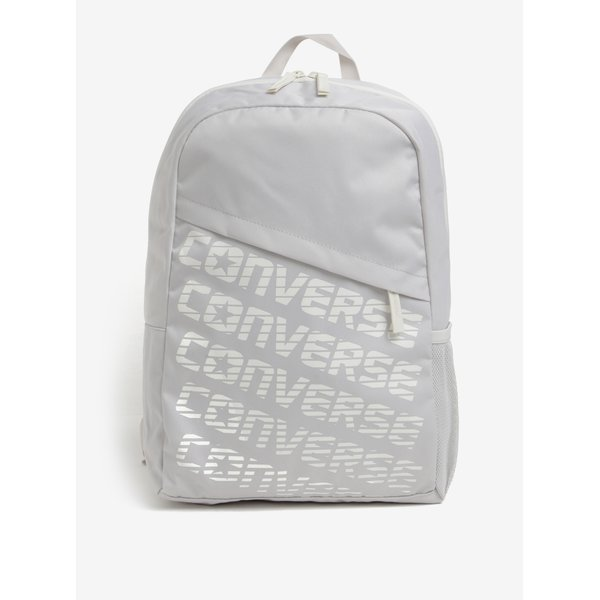 Rucsac urban unisex crem cu print - Converse Speed 20 l
