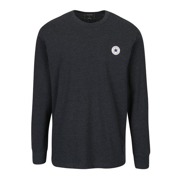 Bluza bleumarin cu logo pentru barbati - Converse Tee Cuff