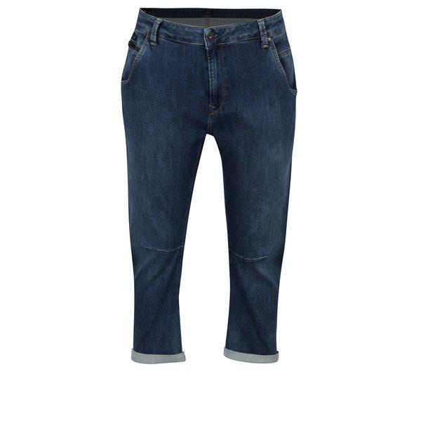 Blugi bleumarin 3 sferturi relaxed pentru femei - Pepe Jeans Topsy