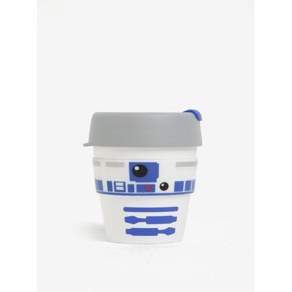Cană albă de călătorie cu tematică Star Wars KeepCup R2D2 Original Small