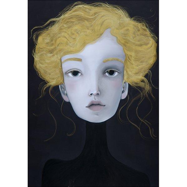 Poster 50x70 cm Portret 5 - Lény Brauner
