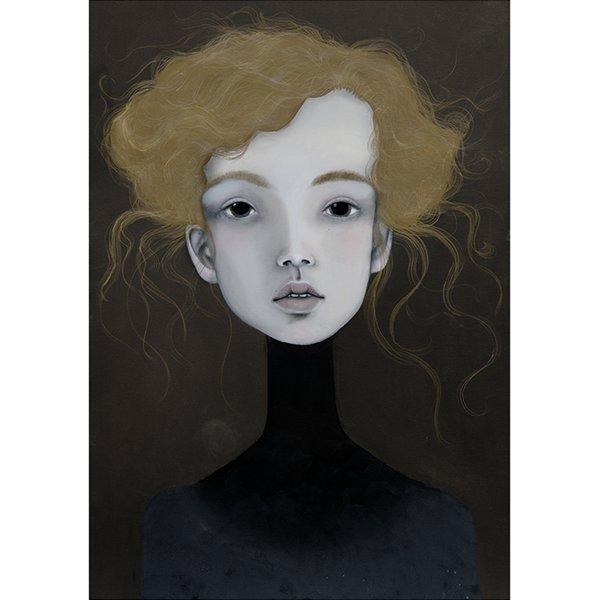Poster 50x70 cm Portret 1 - Lény Brauner