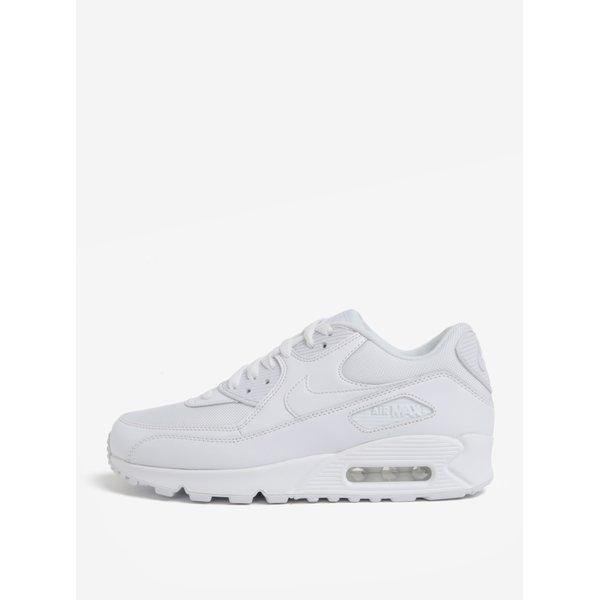 Pantofi sport albi din piele pentru barbati Nike Air Max '90 Essential