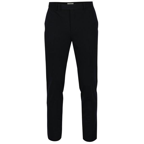 Pantaloni bleumarin de costum Jack & Jones Premium Steven