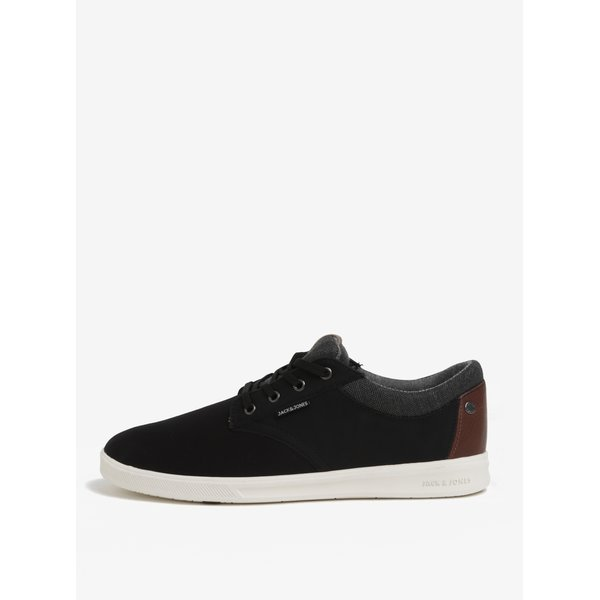 Pantofi sport negri barbatesti - Jack & Jones Gaston