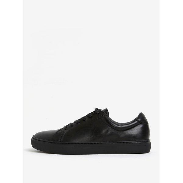 Pantofi sport negri din piele pentru barbati - Vagabond Paul