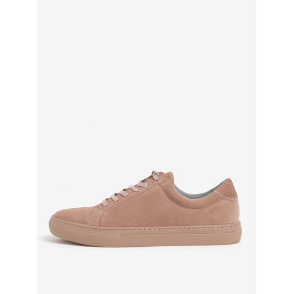 Pantofi sport roz din piele intoarsa pentru barbati - Vagabond Paul