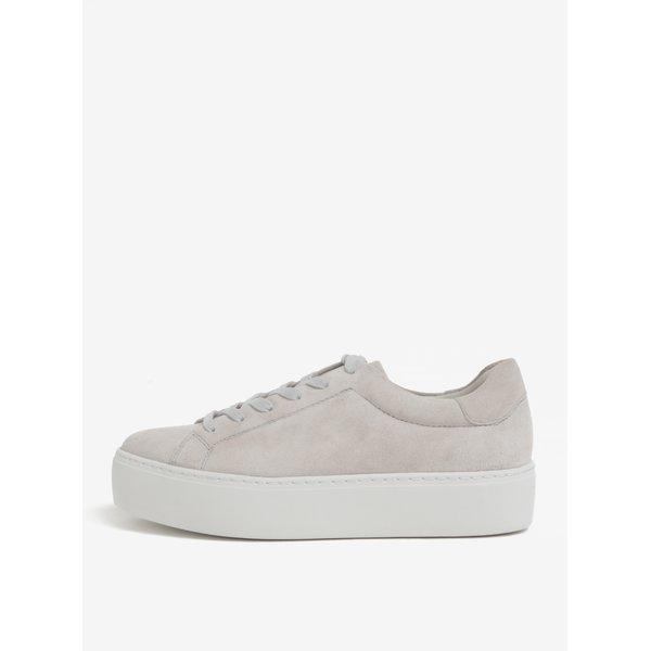Pantofi sport gri din piele intoarsa cu platforma - Vagabond Jessie
