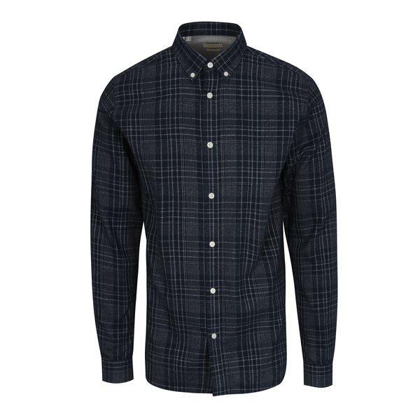 Camasa regular fit bleumarin cu model tartan - Selected Homme Two Sid