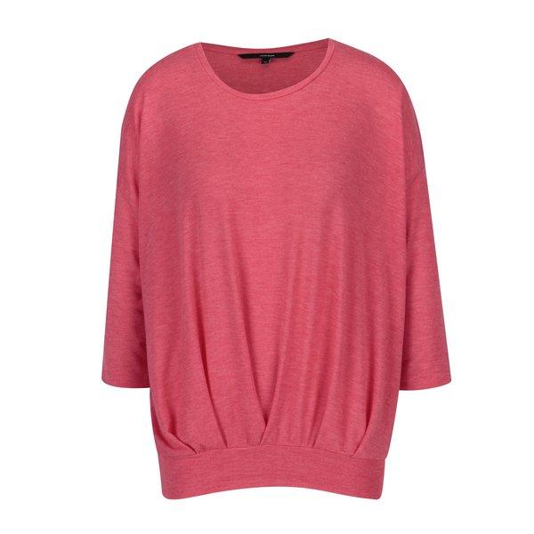 Bluza lejera roz cu maneci 3/4 - VERO MODA Jakuri
