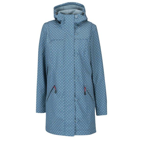 Jacheta impermeabila albastra pentru primavara / toamna - Blutsgeschwister