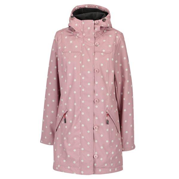 Jacheta impermeabila roz pentru primavara / toamna - Blutsgeschwister